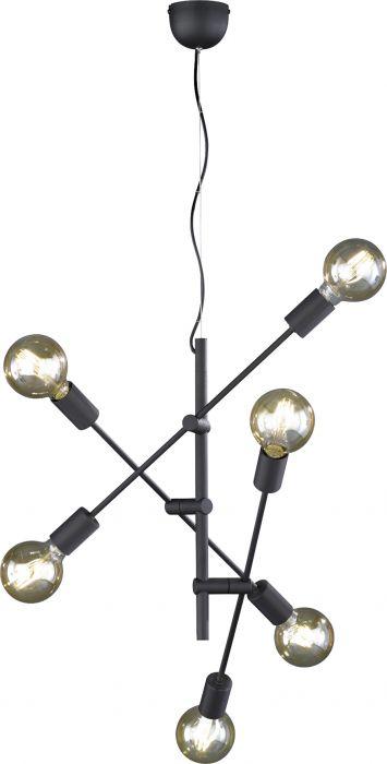 Riippuvalaisin Trio Cross 6 x E27