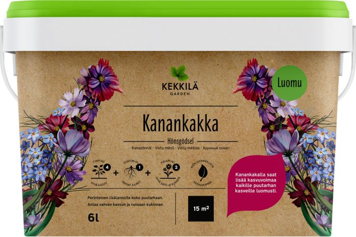 Kanankakka Kekkilä 6 l