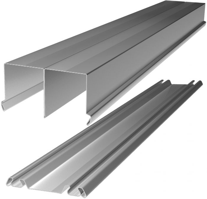 Lattia- ja kattokisko Lundbergs Entry & Nordic 2692 mm Alumiini