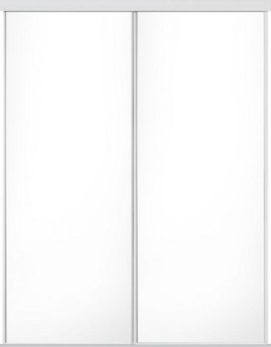 Liukuovisarja Lundbergs 1200 x 2318 mm Valkoinen