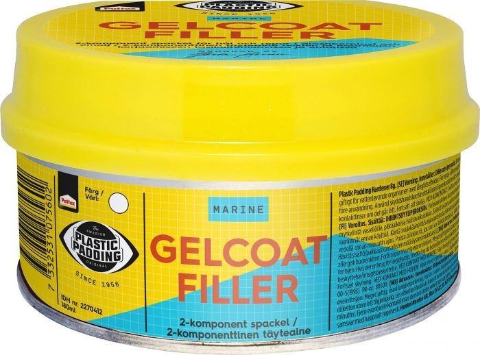 Korjausaine Plastic Padding Gelcoat Filler 180 ml