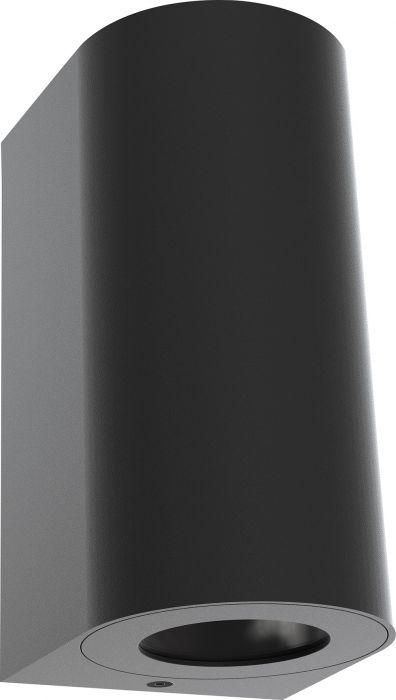 Ulkoseinävalaisin Nordlux Canto Maxi 2 Musta