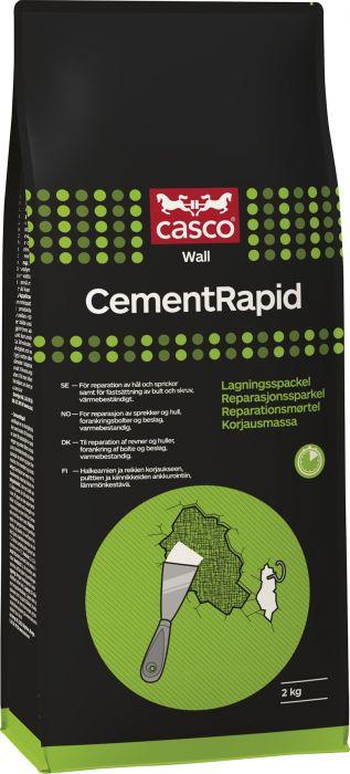Asennus- ja korjausmassa Casco Cement Rapid 2 kg