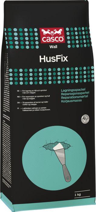 Kiinnitys- ja korjausmassa Casco Husfix 1 kg
