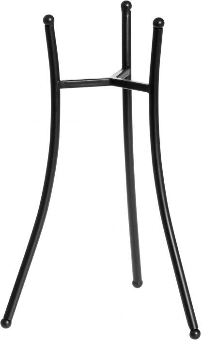 Ulkotulijalka 16 cm musta