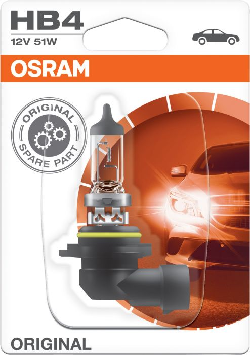 Polttimo Osram Original HB4 1 kpl
