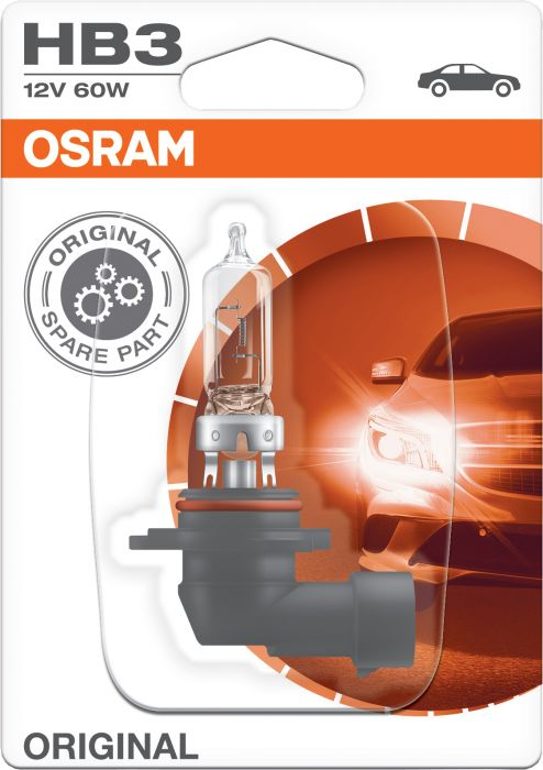 Polttimo Osram Original HB3 1 kpl