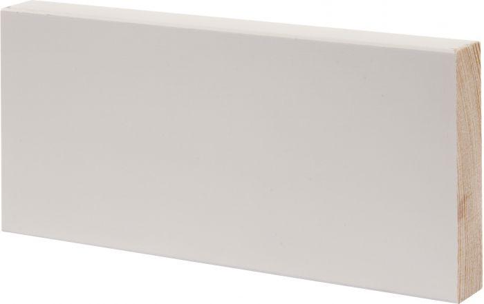 Smyygilista Maler 15 x 70 x 3000 mm mänty valkoinen