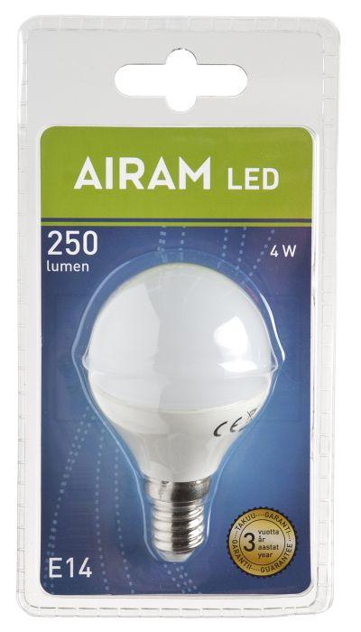 Mainoslamppu Airam LED 4 W E14