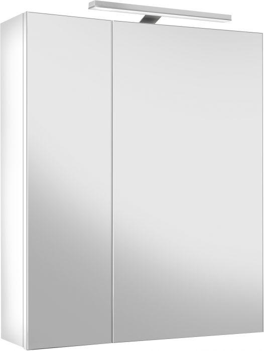 Peilikaappi Gustavsberg Nordic³ Valkoinen LED