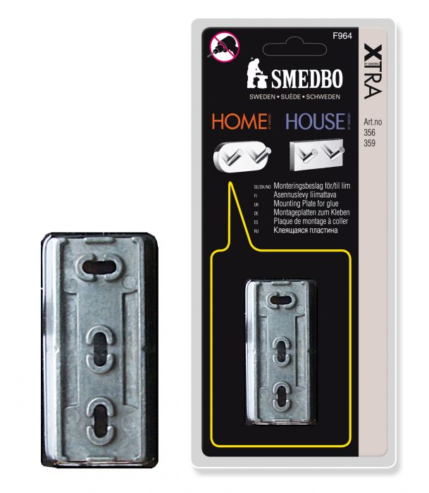 Asennuslevy Smedbo Home/House F964