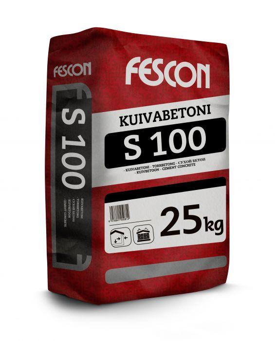 Kuivabetoni Fescon S 100 25 kg