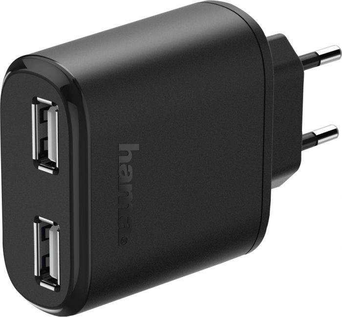 Verkkovirtalaturi 2 x USB 4,8 A