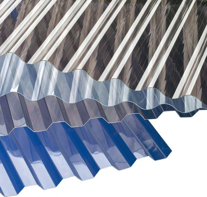Kasvihuonelevy Gutta 1,045 m x 2,0 m x 0,8 mm kirkas