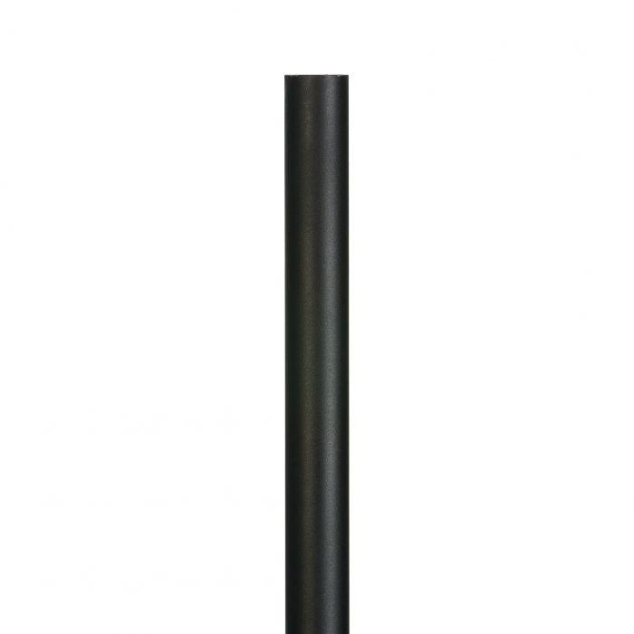 Valaisinpylväs Euli 150 cm Musta