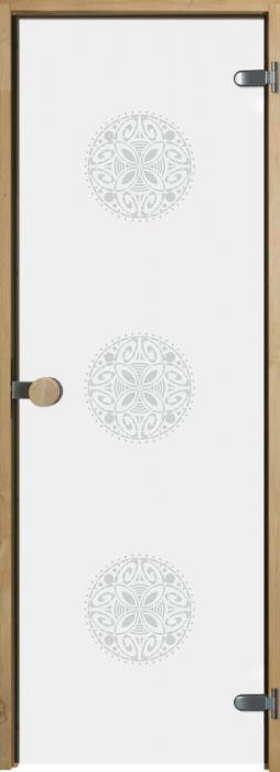 Saunan lasiovi Jeld-Wen OrnamentW Leppäkarmi