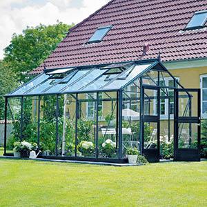 Oma kasvihuone – luksusta elämään ja lautaselle
