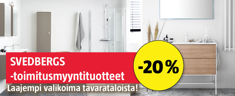 Svedbergs-toimitusmyyntituotteet -20%